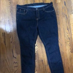 Old Navy Size 18 Straight Leg Jeans
